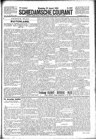 Schiedamsche Courant 1929-01-23