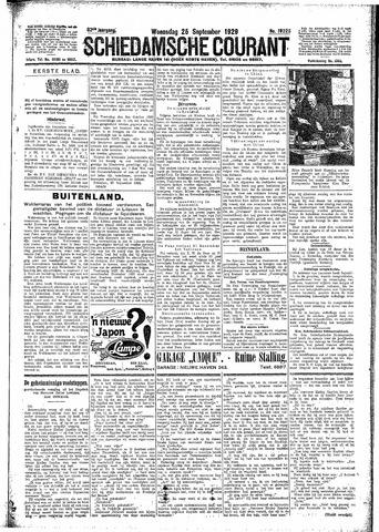 Schiedamsche Courant 1929-09-25