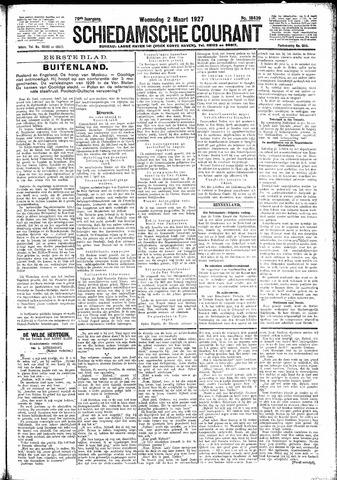 Schiedamsche Courant 1927-03-02