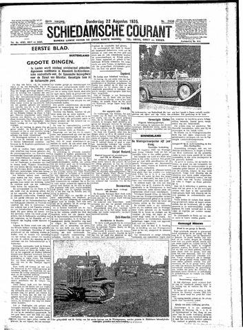 Schiedamsche Courant 1935-08-22