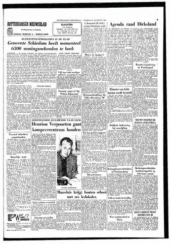 Rotterdamsch Nieuwsblad / Schiedamsche Courant / Rotterdams Dagblad / Waterweg / Algemeen Dagblad 1965-08-24