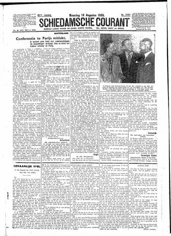 Schiedamsche Courant 1935-08-19