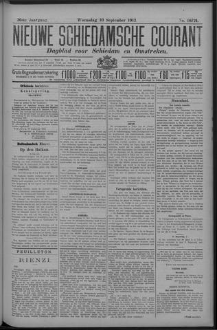 Nieuwe Schiedamsche Courant 1913-09-10
