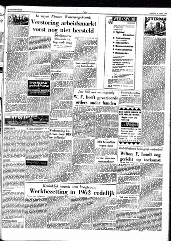 Trouw / De Rotterdammer 1963-04-09