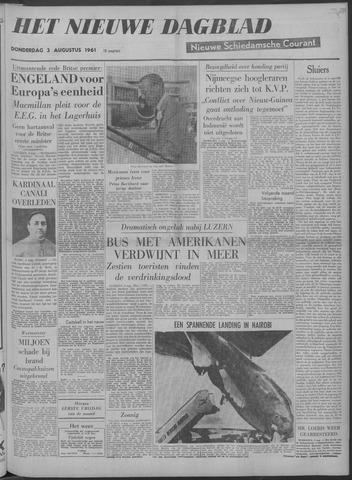 Nieuwe Schiedamsche Courant 1961-08-03