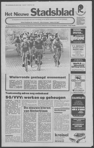 Het Nieuwe Stadsblad 1981-08-07