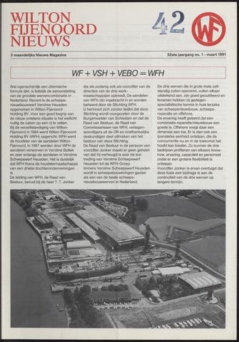 Wilton Fijenoord Nieuws 1991