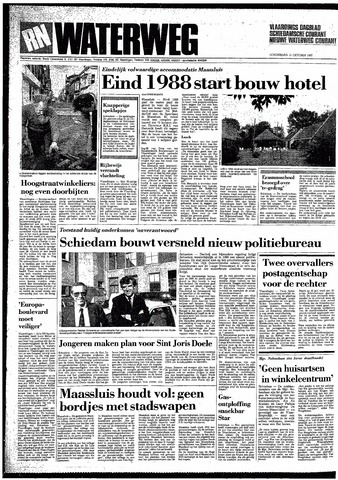 Rotterdamsch Nieuwsblad / Schiedamsche Courant / Rotterdams Dagblad / Waterweg / Algemeen Dagblad 1987-10-15