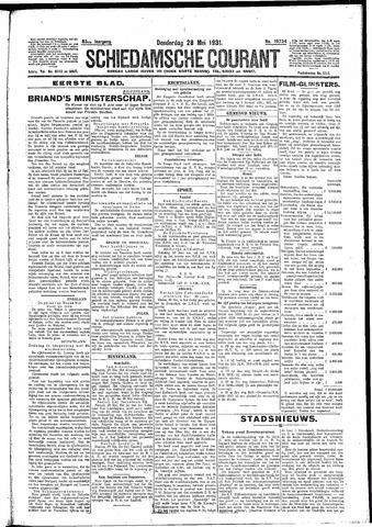 Schiedamsche Courant 1931-05-28