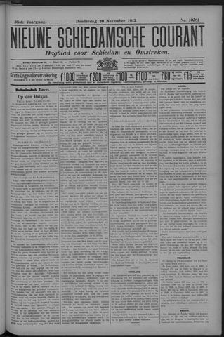 Nieuwe Schiedamsche Courant 1913-11-20