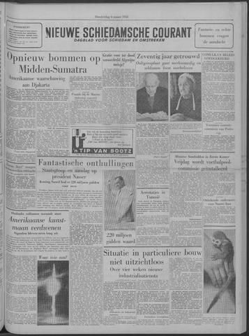 Nieuwe Schiedamsche Courant 1958-03-06