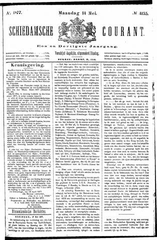 Schiedamsche Courant 1877-05-14