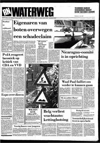 Rotterdamsch Nieuwsblad / Schiedamsche Courant / Rotterdams Dagblad / Waterweg / Algemeen Dagblad 1987-07-21