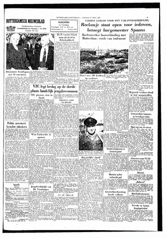 Rotterdamsch Nieuwsblad / Schiedamsche Courant / Rotterdams Dagblad / Waterweg / Algemeen Dagblad 1965-04-27