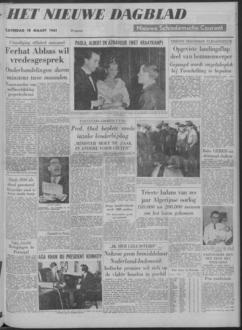 Nieuwe Schiedamsche Courant 1961-03-18