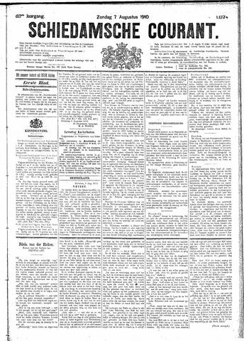 Schiedamsche Courant 1910-08-07