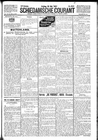 Schiedamsche Courant 1927-05-20