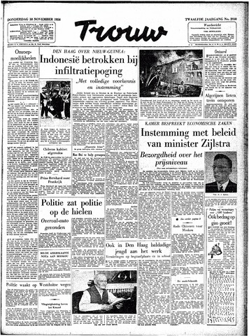 Trouw / De Rotterdammer 1954-11-18
