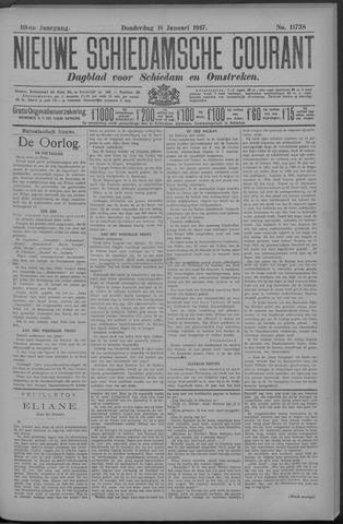 Nieuwe Schiedamsche Courant 1917-01-18