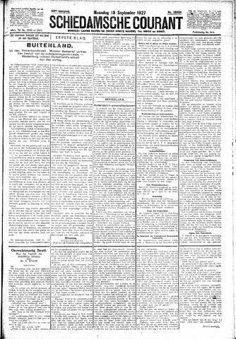 Schiedamsche Courant 1927-09-19