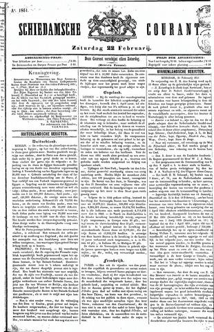Schiedamsche Courant 1851-02-22
