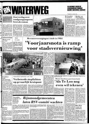 Rotterdamsch Nieuwsblad / Schiedamsche Courant / Rotterdams Dagblad / Waterweg / Algemeen Dagblad 1983-04-13