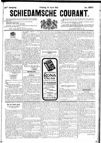 Schiedamsche Courant 1912-04-16