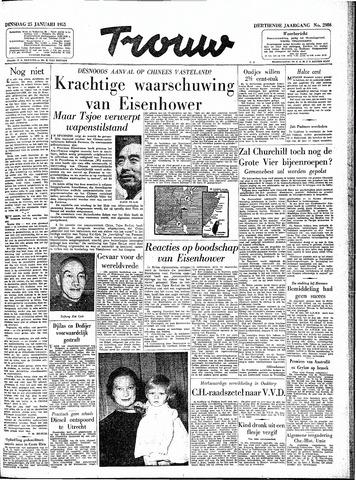 Trouw / De Rotterdammer 1955-01-25