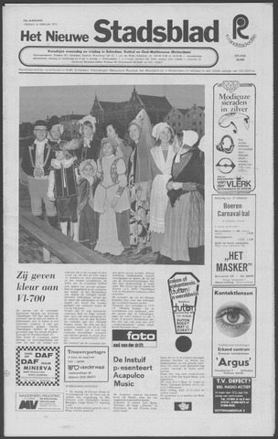 Het Nieuwe Stadsblad 1973-02-16