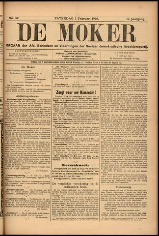 De Moker 1908-02-01