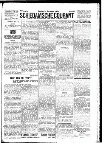 Schiedamsche Courant 1929-12-24