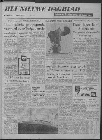 Nieuwe Schiedamsche Courant 1962-04-02