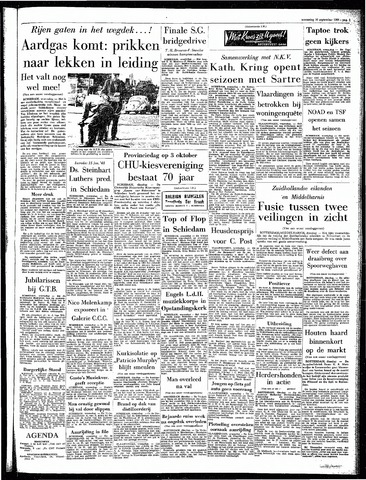 Rotterdamsch Parool / De Schiedammer 1964-09-16