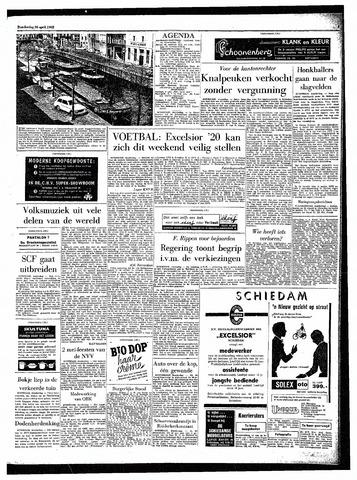 Rotterdamsch Parool / De Schiedammer 1962-04-26