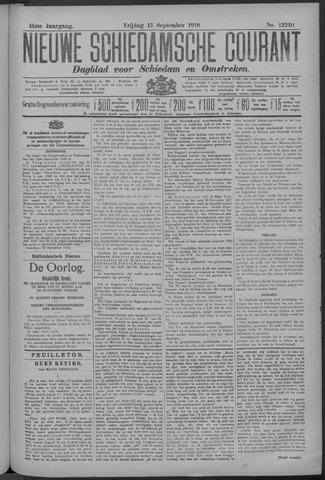 Nieuwe Schiedamsche Courant 1918-09-13