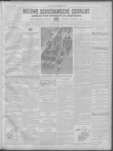 Nieuwe Schiedamsche Courant 1932-11-11