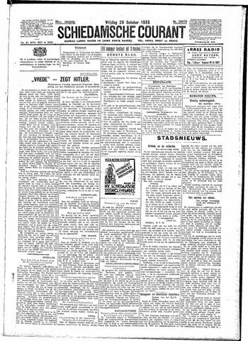 Schiedamsche Courant 1933-10-20