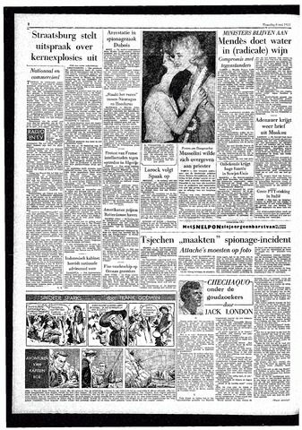 Rotterdamsch Parool / De Schiedammer 1957-05-06