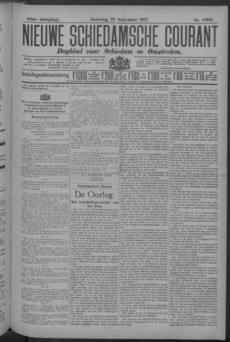 Nieuwe Schiedamsche Courant 1917-09-22
