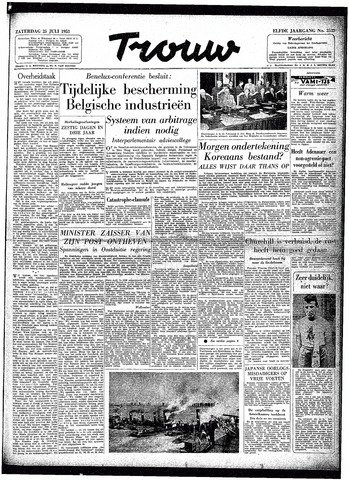 Trouw / De Rotterdammer 1953-07-25