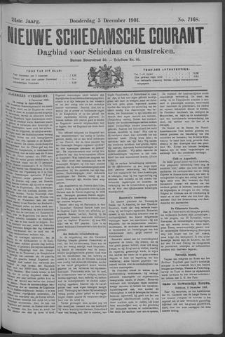 Nieuwe Schiedamsche Courant 1901-12-05