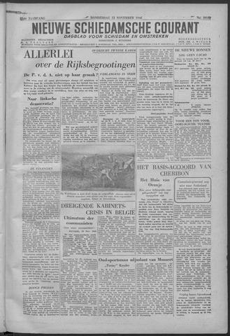 Nieuwe Schiedamsche Courant 1946-11-14