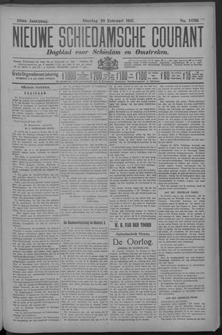 Nieuwe Schiedamsche Courant 1917-02-20