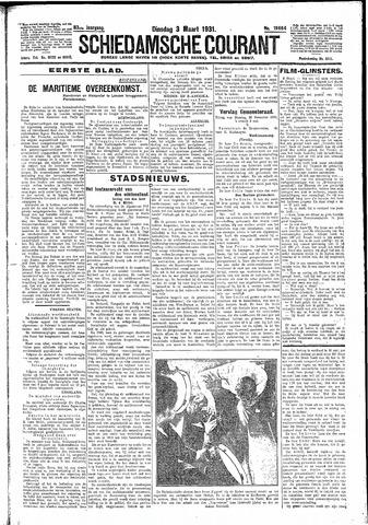 Schiedamsche Courant 1931-03-03