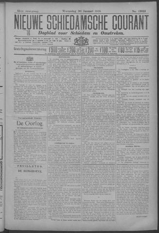 Nieuwe Schiedamsche Courant 1918-01-30