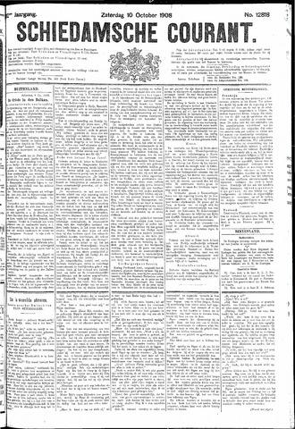 Schiedamsche Courant 1908-10-10