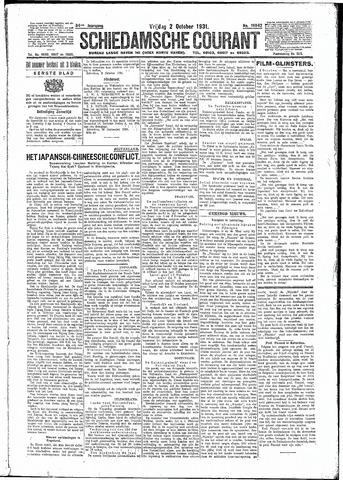 Schiedamsche Courant 1931-10-02