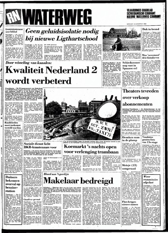 Rotterdamsch Nieuwsblad / Schiedamsche Courant / Rotterdams Dagblad / Waterweg / Algemeen Dagblad 1983-08-16