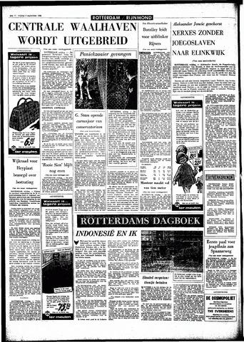 Rotterdamsch Parool / De Schiedammer 1966-09-09