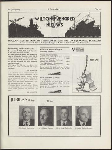Wilton Fijenoord Nieuws 1949-09-01